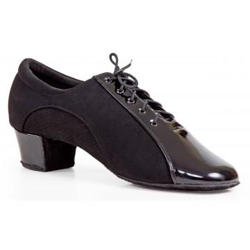 Мужские туфли для бальных танцев «DanceMaster 4520n» латина 4см