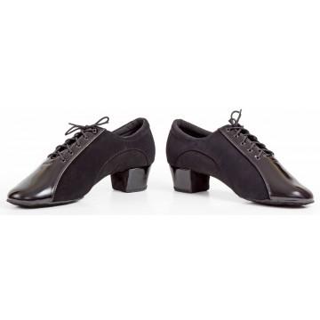 Мужские туфли для бальных танцев «DanceMaster 4520» латина 4см