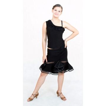 Юбка для бальных танцев SM Collection «Ванда» латина