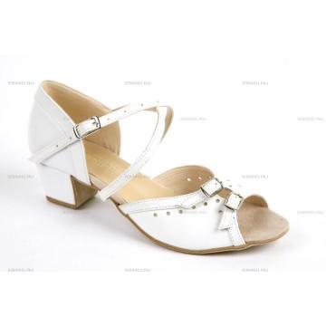 Рейтинговые туфли для бальных танцев «DanceMaster 1617kd» 3см (Катя)