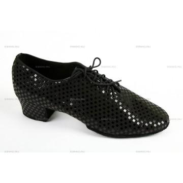 Мужские туфли для бальных танцев «DanceMaster 43310» латина 4см