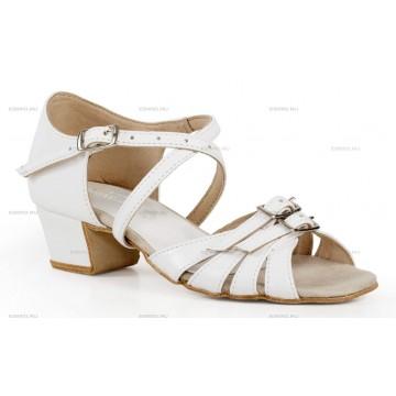Рейтинговые туфли для бальных танцев «DanceMaster 161К» 3см (Катя)