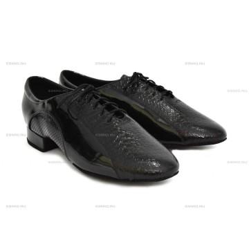 Мужские туфли для бальных танцев DanceMaster 2523 стандарт 2,5 см