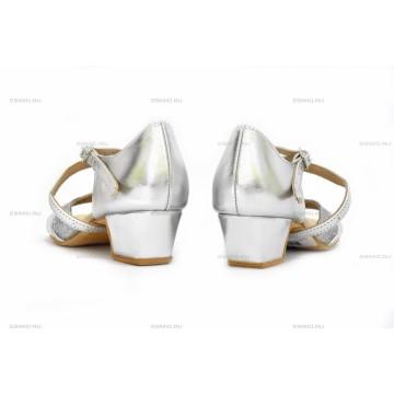 Рейтинговые туфли для бальных танцев «DanceMaster 2000К» 3см