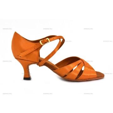 Женские туфли для бальных танцев DanceMaster 170 латина 5 см