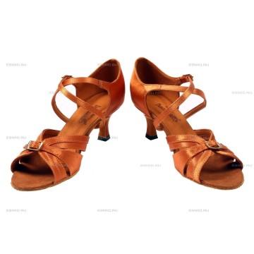 Женские туфли для бальных танцев DanceMaster 164 латина 5 см