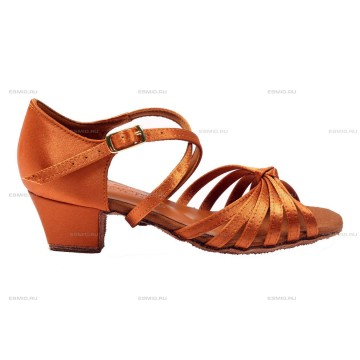Рейтинговые туфли для бальных танцев «DanceMaster 171k» 3см (Катя)