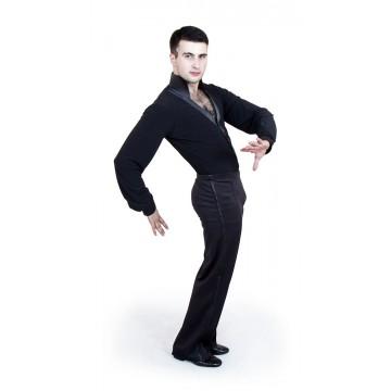 Рейтинговая рубашка-боди для бальных танцев «Соло плюс» «RLK4650» мужская