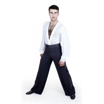 Рубашка-боди для бальных танцев «Соло плюс» «RLZ» мужская