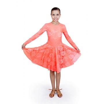 Рейтинговое платье для бальных танцев «Соло плюс» «PPG023840»