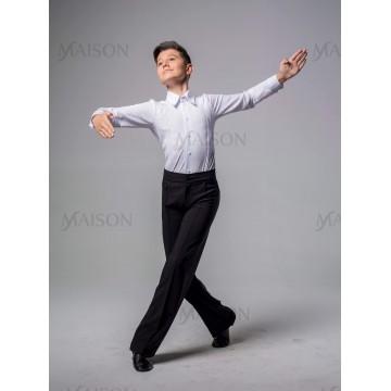 Брюки бальные без лампас для бальных танцев