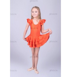 Платье репетиционное с крылышками ХБ