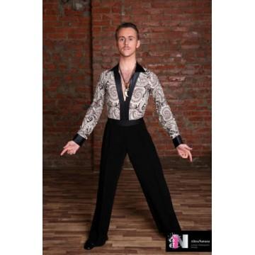 Мужское боди для бальных танцев AltraNatura «Классик»