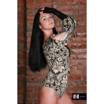 Женское боди для бальных танцев AltraNatura «Ирсен»