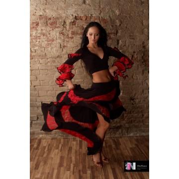 Юбка для бальных танцев AltraNatura «Фламенко»