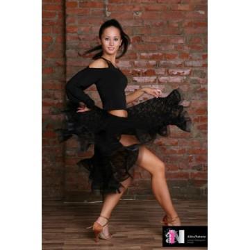 Юбка для бальных танцев AltraNatura La «Самба» (гипюр)