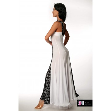 Платье для бальных танцев AltraNatura ST «Нина» гипюр