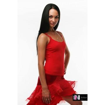 Женский топ для бальных танцев AltraNatura «Олимпия» гипюр