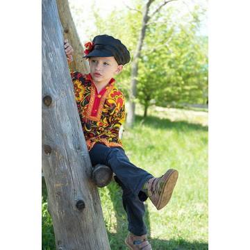 Картуз атласный детский для русских народных танцев
