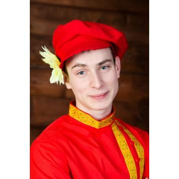Картуз габардин взрослый для русских народных танцев