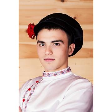 Картуз атласный взрослый для русских народных танцев