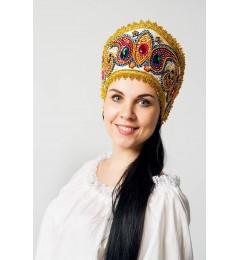 Кокошник «Александра» золото