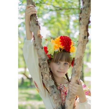 Венок «Весна» для русских народных танцев