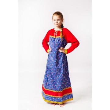 Платье «Любава» для русских народных танцев