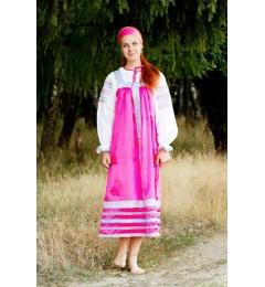 Сарафан «Алёнушка» розовый
