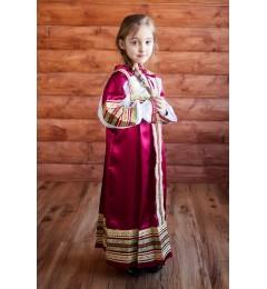 Сарафан «Алёнушка» бордо
