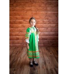 Сарафан «Дарья» зеленый