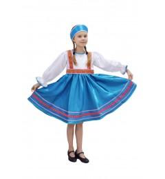 Платье «Сияна» синее
