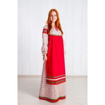 Платье «Забава» для русских народных танцев