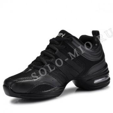 Кроссовки для танцев «К1 чёрные»