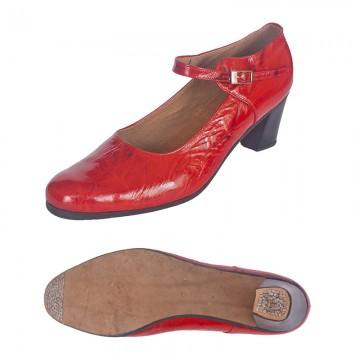Женские туфли для танца фламенко «Соло плюс» «F501»