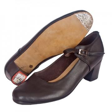 Женские туфли для танца фламенко «Соло плюс» «F502»