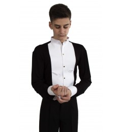 Рубашка-боди фрачная на кнопках