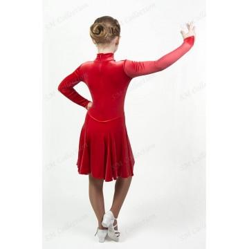 Рейтинговое платье для бальных танцев SMcollection «Дарья»