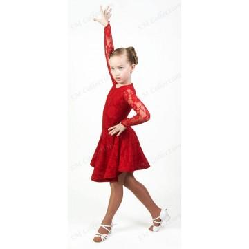 Рейтинговое платье для бальных танцев SMcollection «Мария»