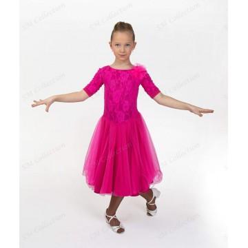Рейтинговое платье для бальных танцев SMcollection «Лидия»