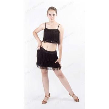 Юбка для бальных танцев SM Collection «Ника» латина