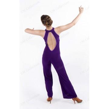 Женский комбинезон для бальных танцев SM Collection «Кристина»
