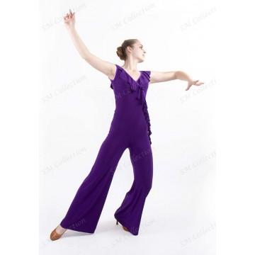 Женский комбинезон для бальных танцев SM Collection «Каролина»