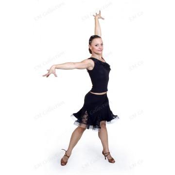 Юбка для бальных танцев SM Collection «Карина» латина