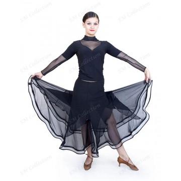 Юбка для бальных танцев SM Collection «Розалия» стандарт