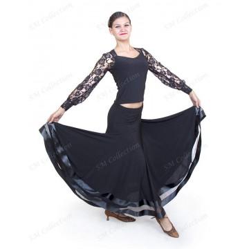 Юбка для бальных танцев SM Collection «Снежана» стандарт