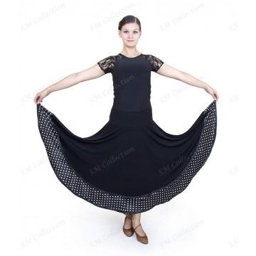 Юбка для бальных танцев SM Collection «Валерия» стандарт