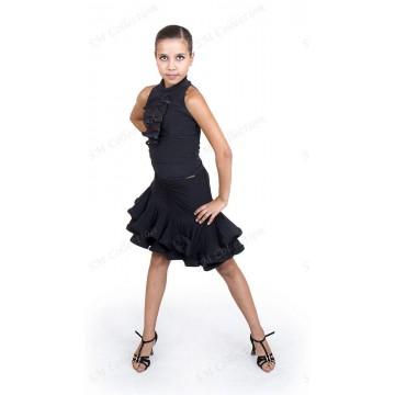 Женский топ для бальных танцев SM Collection «Лолита»