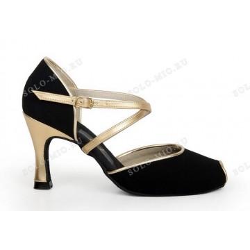 Женские туфли для бальных танцев «Соло плюс» «A705» аргентинское танго