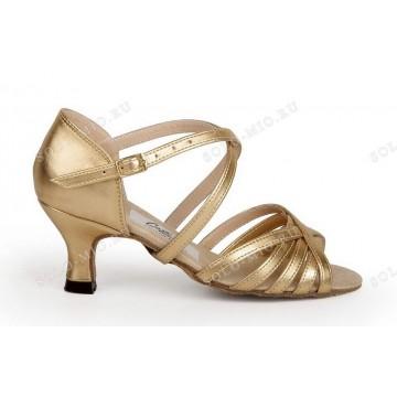 Женские туфли для бальных танцев «Соло плюс» «L503» латина 5см